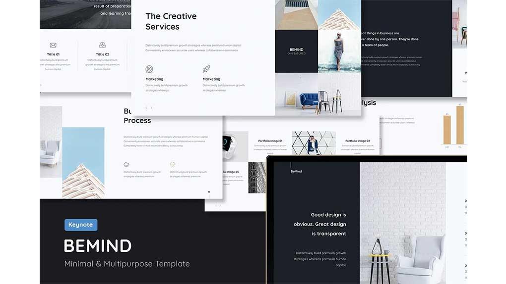 قالب کینوت Minimal & Creative Template