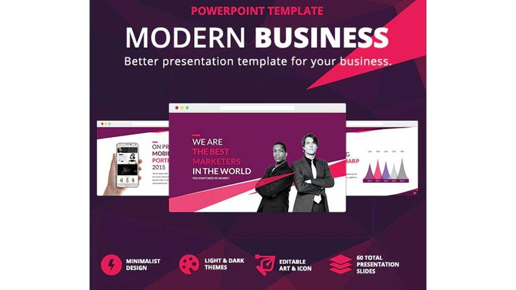 قالب پاورپوینت Modern Business Presentation