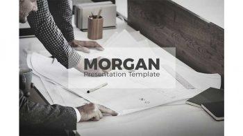دانلود قالب پاورپوینت و کینوت Morgan Presentation Template
