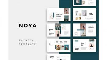 دانلود قالب کینوت NOYA – Keynote Template