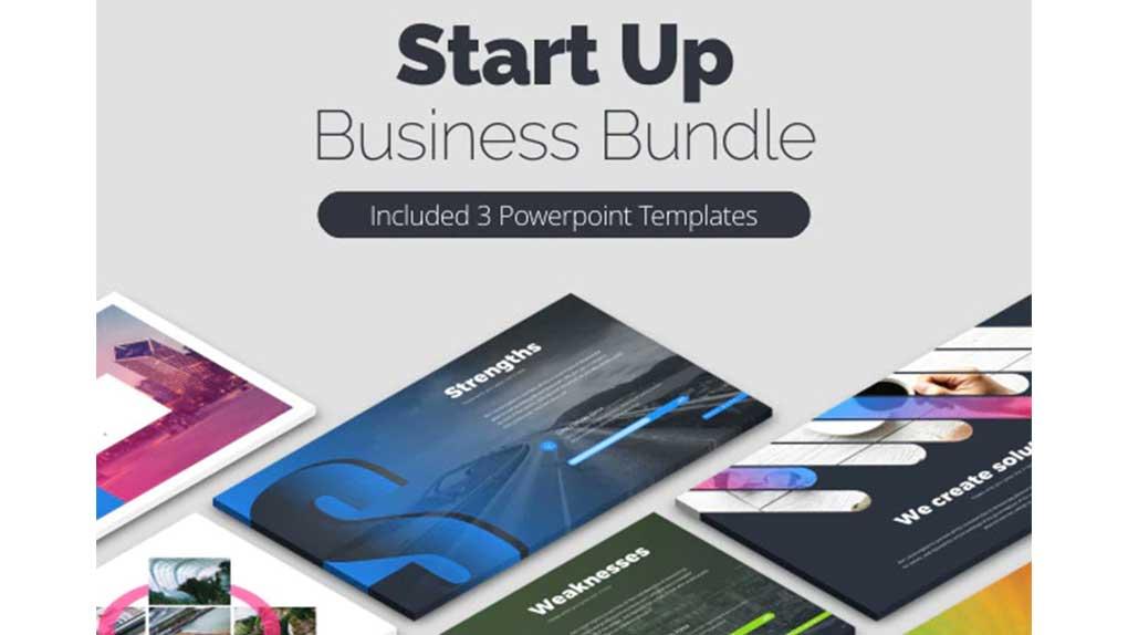 قالب پاورپوینت استارت آپ StartUp Bundle