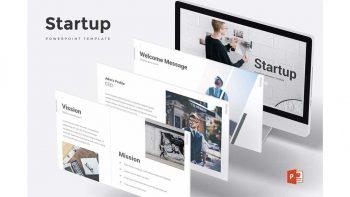 دانلود قالب پاورپوینت استارت آپ Startup – Powerpoint Template