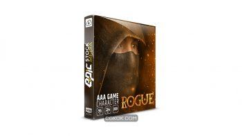دانلود مجموعه افکت صوتی کاراکتر بازی  AAA Game Character Rogue
