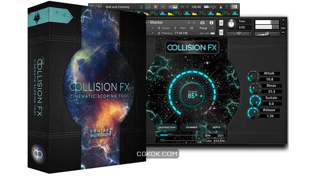 افکت صوتی سینمایی Collision FX