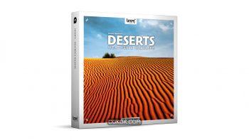 دانلود مجموعه افکت صوتی کویر Deserts Weather & Wildlife STEREO