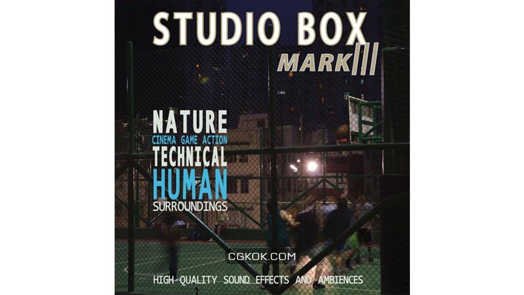 افکت صوتی Studio Box Mark III