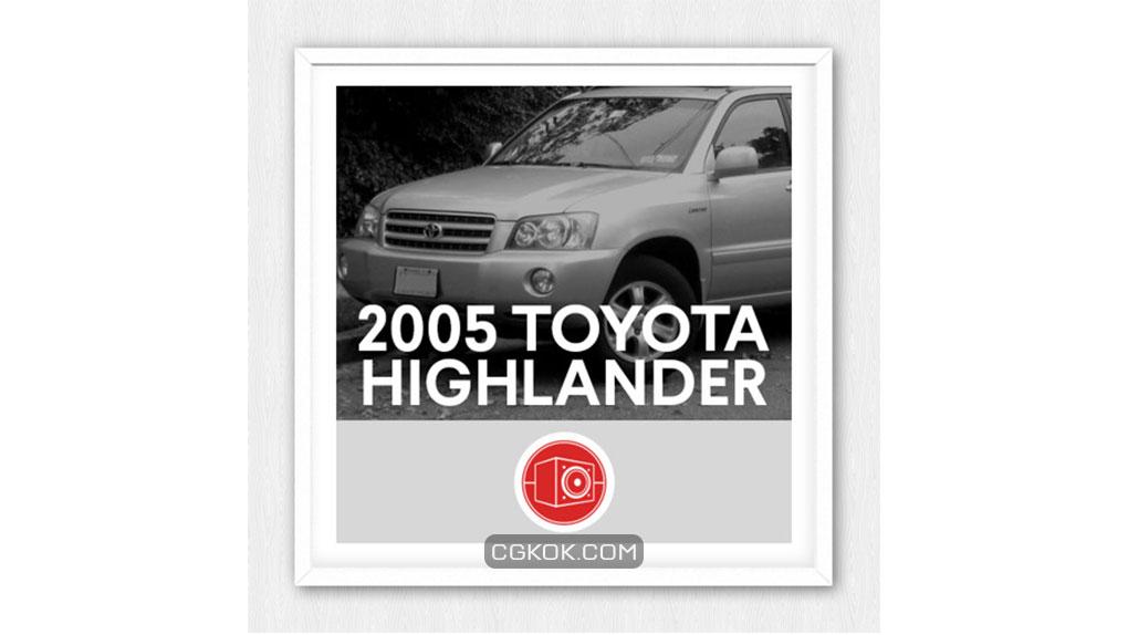 افکت صوتی Toyota Highlander 2005