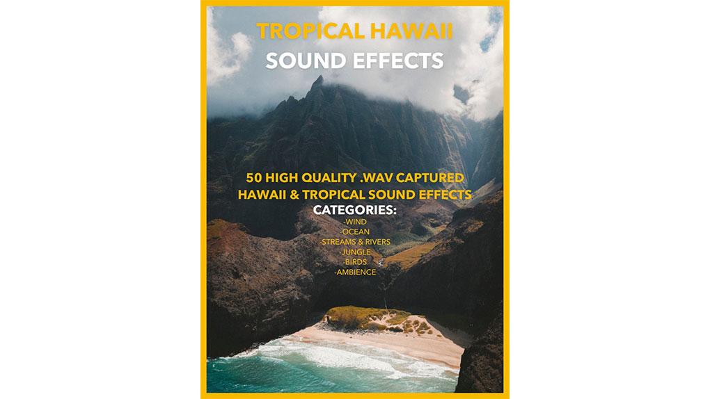 افکت صوتی منطقه گرمسیری هاوایی