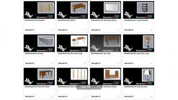 دانلود آبجکت معماری برای راینو