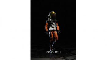 دانلود آبجکت فضانورد برای کانسپت آرت