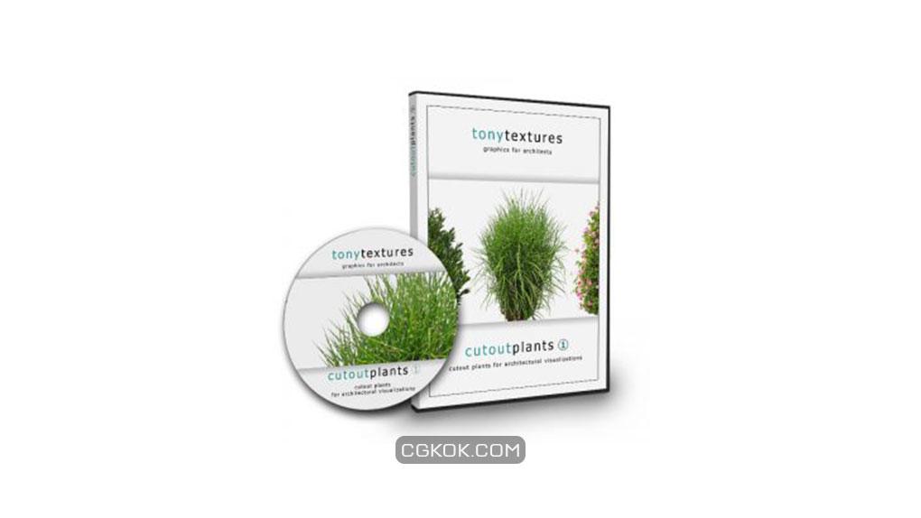 تصویر کات اوت گیاهان