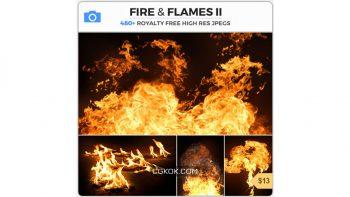دانلود تصاویر رفرنس آتش و شعله های آتش