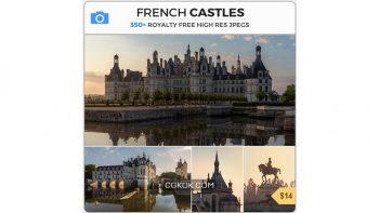دانلود تصاویر رفرنس قلعه های فرانسوی
