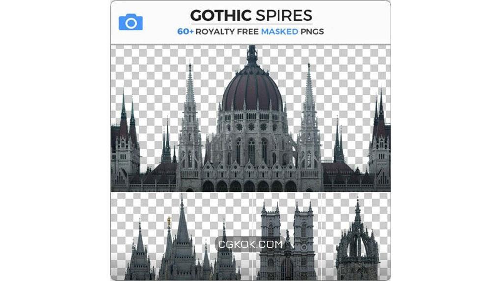 تصاویر رفرنس از سازه های گوتیک