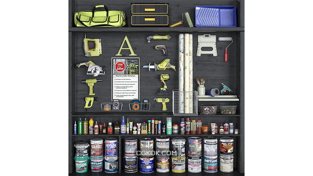 آبجکت ست ابزار های دستی