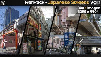 دانلود تصاویر رفرنس خیابان های ژاپن