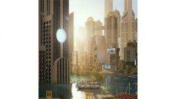 دانلود آبجکت شهر دبی Kitbash3D – Neo Dubai