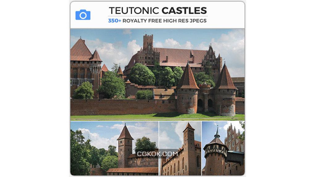 تصاویر رفرنس از قلعه های قدیمی توتونیک