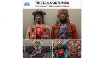 دانلود تصاویر رفرنس لباس تبتی