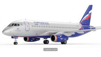دانلود مدل سه بعدی هواپیما
