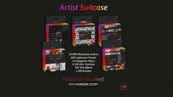 دانلود مجموعه دستیار هنرمندان از AdobeArtist