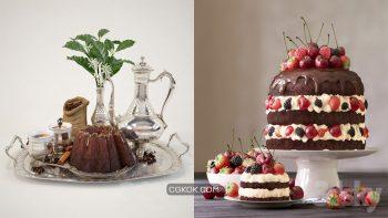 دانلود مدل سه بعدی کیک و بسکویت