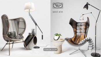 دانلود 65 مدل سه بعدی صندلی از Pro 3DSky – مجموعه دوم