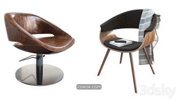دانلود 42 مدل سه بعدی صندلی از Pro 3DSky – مجموعه چهارم