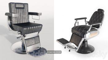 دانلود مدل سه بعدی صندلی آرایشگاه
