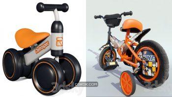دانلود مدل سه بعدی دوچرخه کودک
