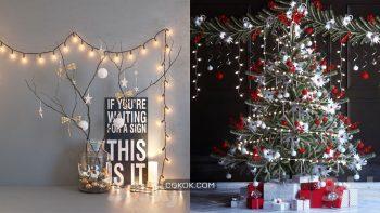 دانلود مدل سه بعدی کریسمس