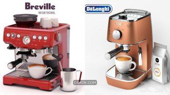 دانلود مدل سه بعدی قهوه ساز