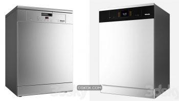 دانلود مدل سه بعدی ماشین ظرفشویی