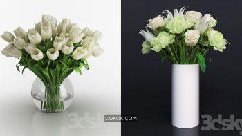 دانلود 75 مدل سه بعدی گل و گلدان از Pro 3DSky – مجموعه دوم