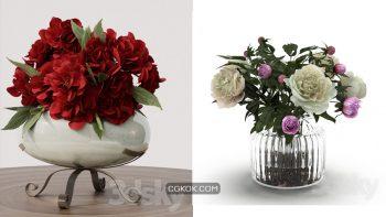 دانلود 78 مدل سه بعدی گل و گلدان از Pro 3DSky – مجموعه چهارم
