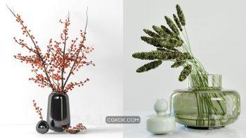 دانلود 68 مدل سه بعدی گل و گلدان از Pro 3DSky – مجموعه ششم