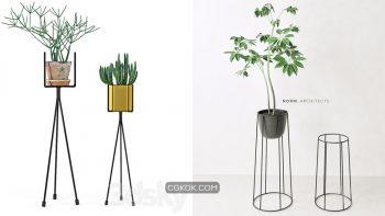 دانلود 71 مدل سه بعدی گل و گلدان از Pro 3DSky – مجموعه هشتم