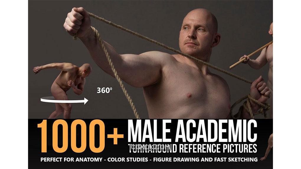 تصاویر رفرنس چرخش آکادمیک مردانه