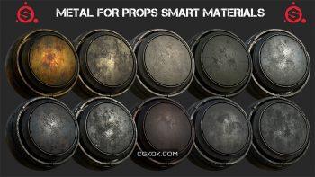دانلود اسمارت متریال فلز برای سابستنس پینتر