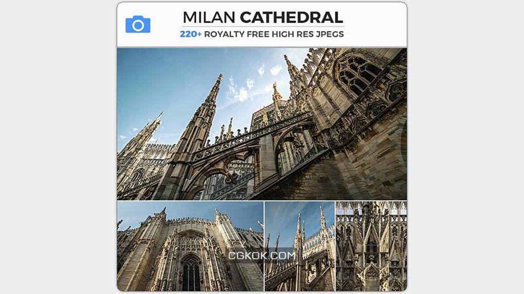تصاویر رفرنس کلیسای Milan Duomo
