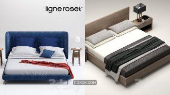 دانلود مدل سه بعدی تخت خواب مدرن از Pro 3DSky – مجموعه سوم