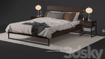 دانلود 66 مدل سه بعدی تختخواب مدرن از Pro 3DSky – مجموعه پنجم