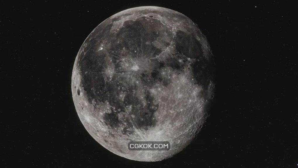 تکسچر ماه