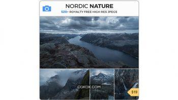 دانلود تصاویر رفرنس طبیعت شمال اروپا