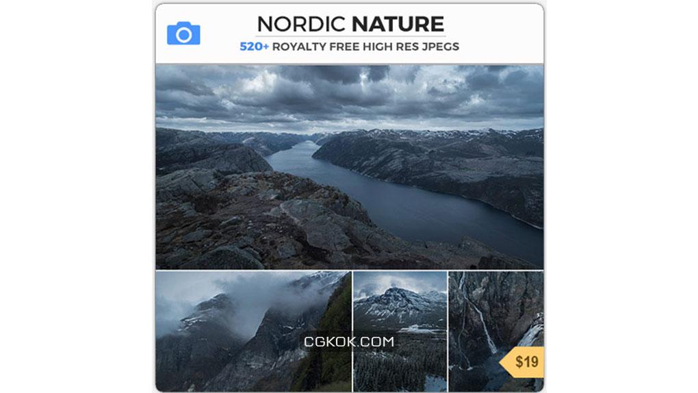 تصاویر رفرنس طبیعت شمال اروپا
