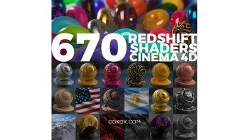 دانلود متریال Redshift برای سینمافوردی