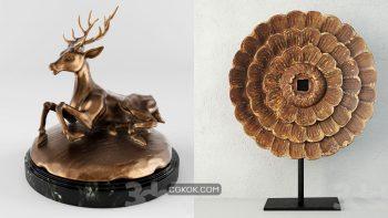 دانلود 50 مدل سه بعدی مجسمه از Pro 3DSky – مجموعه دوم