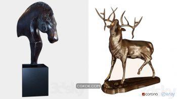 دانلود 42 مدل سه بعدی مجسمه از Pro 3DSky – مجموعه سوم