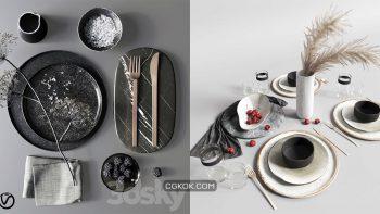 دانلود 29 مدل سه بعدی میز غذا از Pro 3DSky – مجموعه دوم