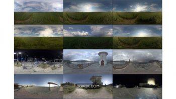 دانلود تصاویر تکسچر HDRI آسمان از Poliigon